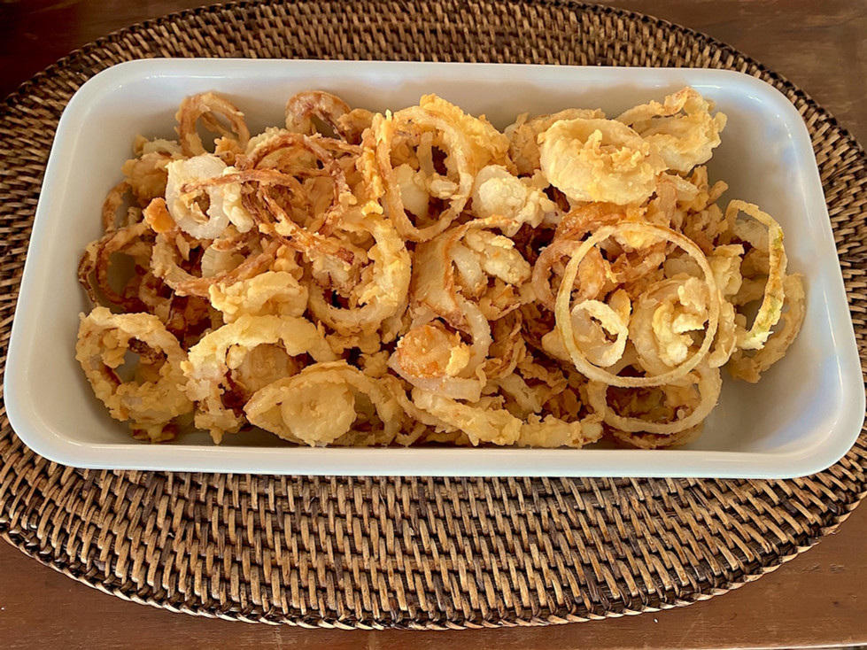Cebola Frita (Onion Rings)