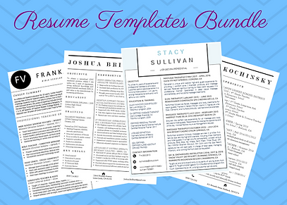 Resume Templates Bundle image.png