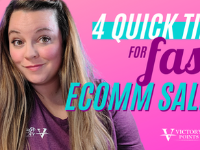 4 Quick Tips for FAST eComm Sales using Retargeting Ads