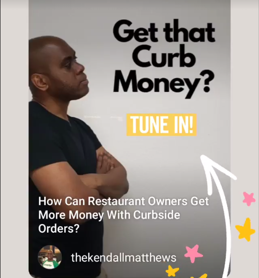 How can restaurant owners get more money with curbside orders