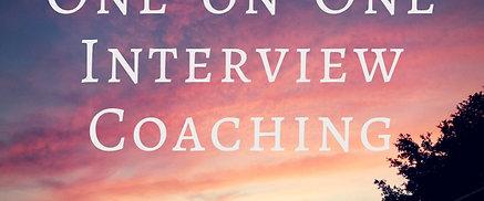 1:1 Interview Coaching