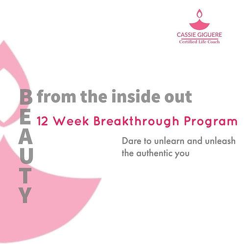 12 Week Program September 15th