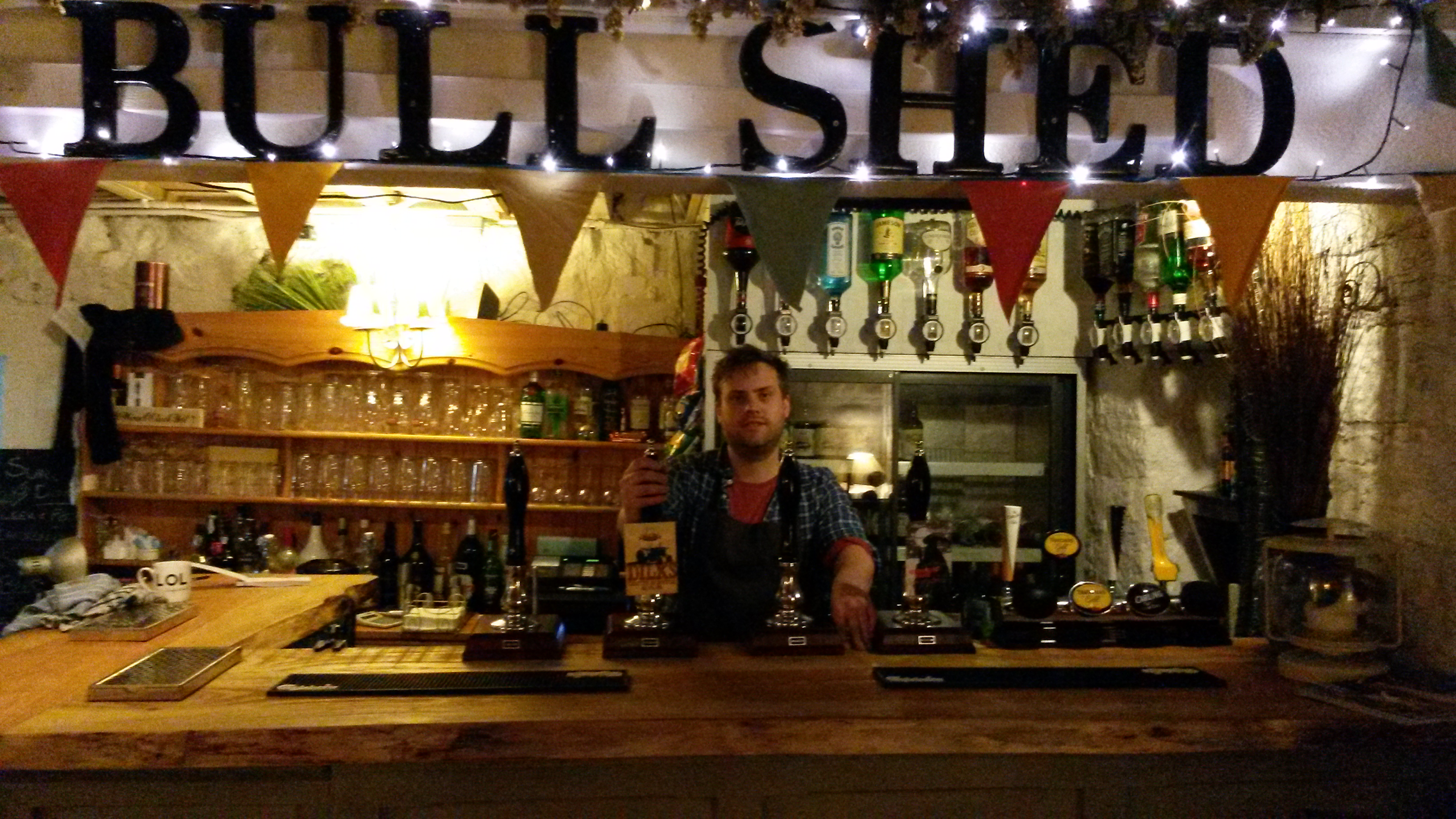 The Bull Shed bar