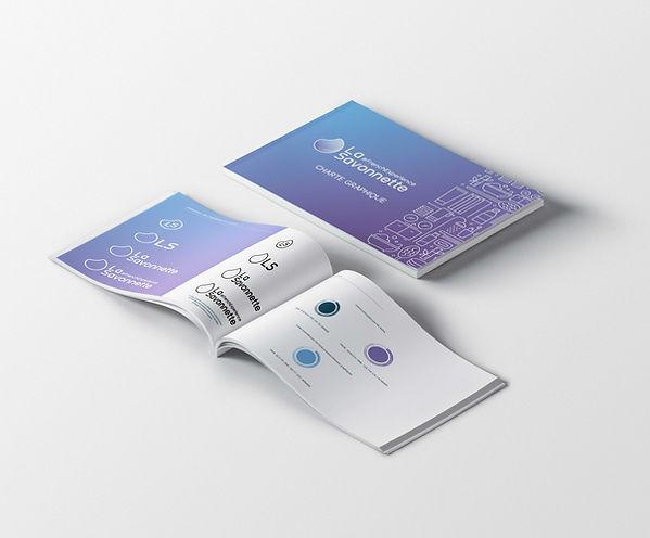 La Savonnette charte graphique identité visuelle