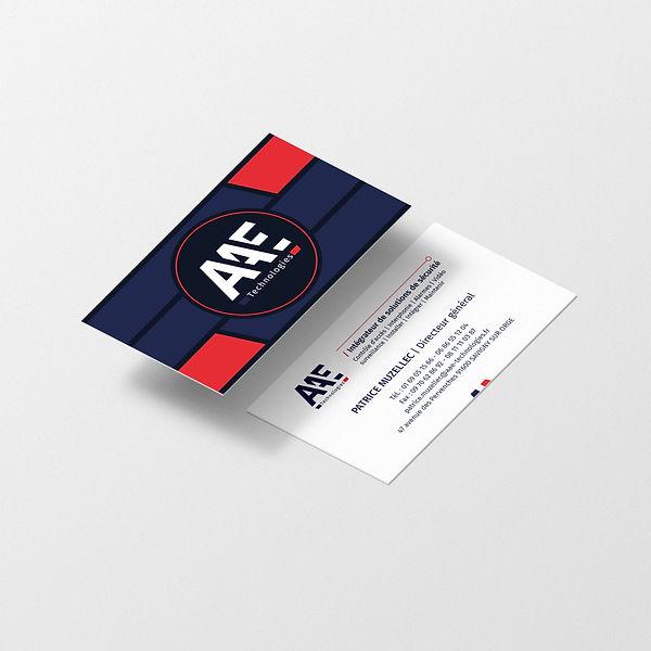 AAE Technologies carte de visite