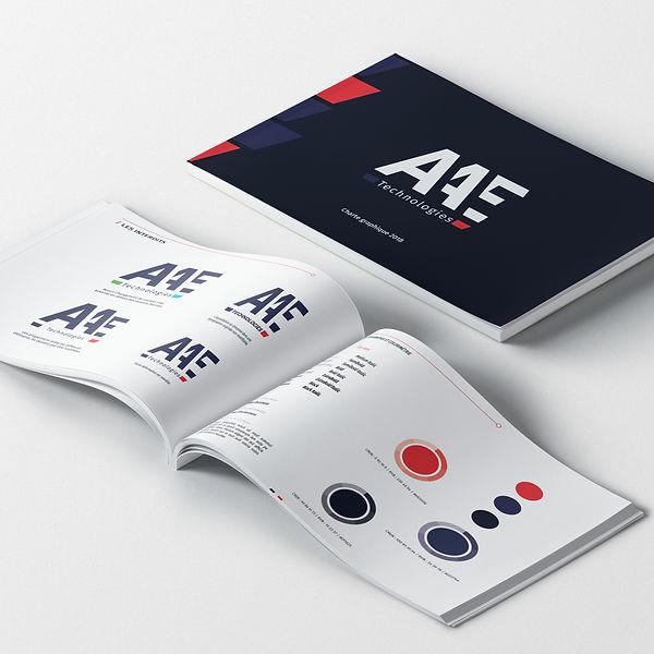 AAE Technologies charte graphique
