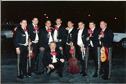 Audi's Mariachi Band (Audi is on the Far