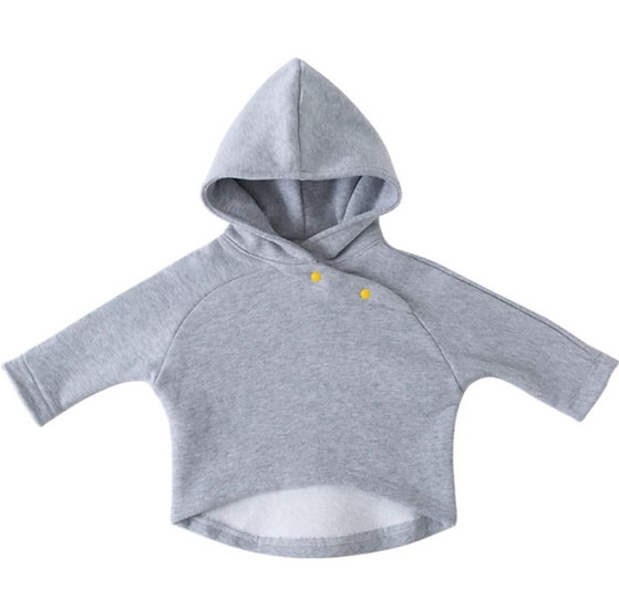 Cotton Hoody in Grey
