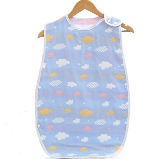Baby Sleepsack in Blue Cloud