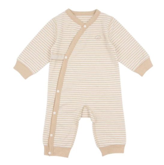 Organic Cotton Onesie in Stripe