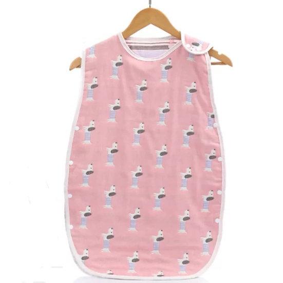 Baby Sleepsack in Pink Puppy