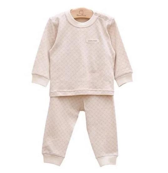 Organic Cotton Jacquard Star Pyjamas