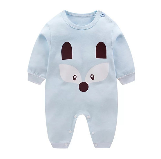 Button Onesie with Print