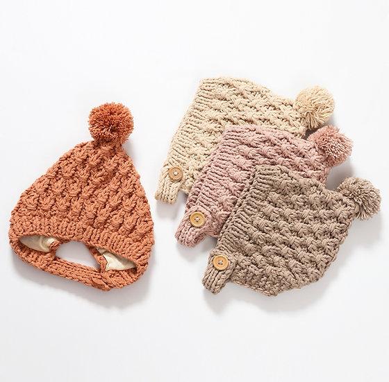 Hand Crochet Bonnet