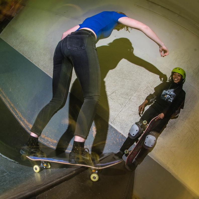 Homage Girl's Skate Night