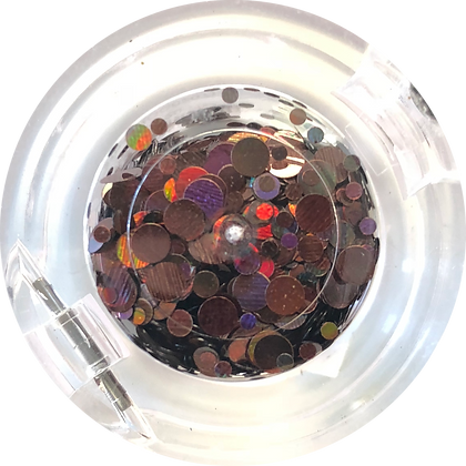 GG207 - Circle Mix Dark Garnet