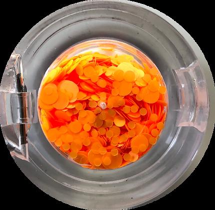 GG214 - Circle Mix Neon Orange