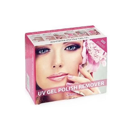 UV Gel & Polish Remover Wraps (200 pc/box)