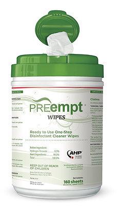 PreEmpt RTU Wipes (160 sheets/pack)