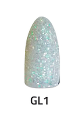 CHISEL 2IN1 ACRYLIC & DIPPING 2 OZ - GL 1 - GLITTER COLLECTION