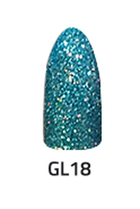 CHISEL 2IN1 ACRYLIC & DIPPING 2 OZ - GL 18- GLITTER COLLECTION