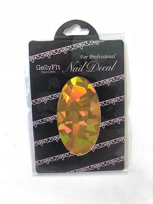 GS06 - Nail Decal Glass Sticker