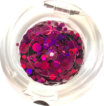GG209 - Circle Mix Hot Pink