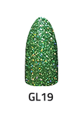 CHISEL 2IN1 ACRYLIC & DIPPING 2 OZ - GL 19- GLITTER COLLECTION