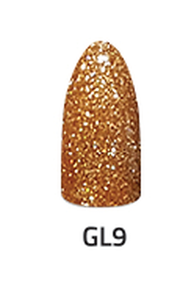 CHISEL 2IN1 ACRYLIC & DIPPING 2 OZ - GL 9- GLITTER COLLECTION