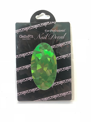 GS04 - Nail Decal Glass Sticker