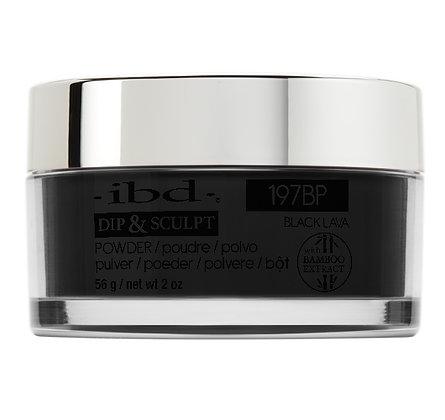 IBD 2in1 Dip & Sculpt Powder 2 oz. - Black Lava