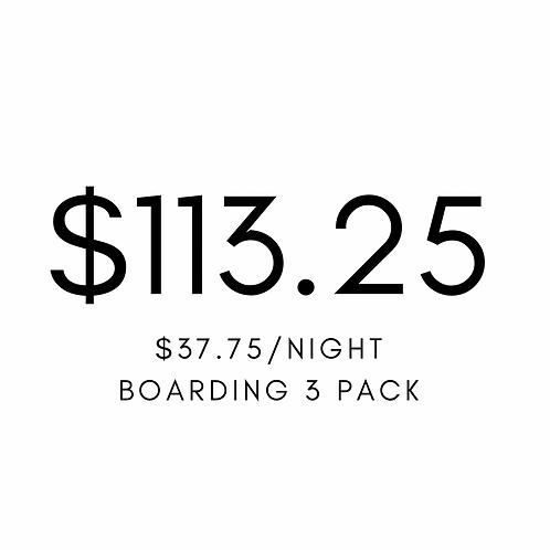 Boarding 3 Pack