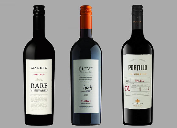 MALBEC WINE SELECTION BY WINEDIMENSIONS