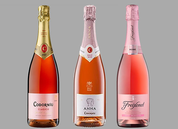 SPANISH SPARKLING ROSE WINE SELECTION BY WINEDIMENSIONS