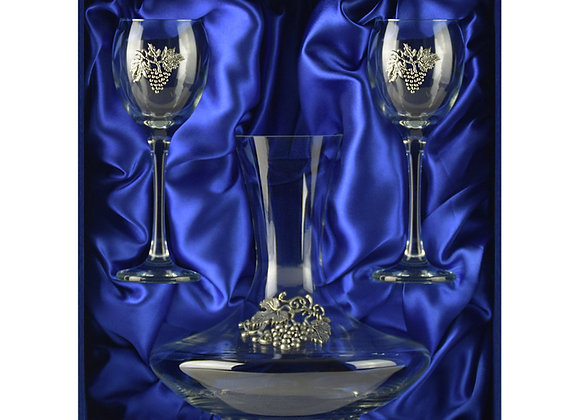 Winedimensions Wine Decanter Gift Set (Blue)