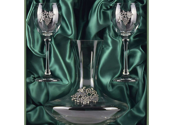 Winedimensions Wine Decanter Gift Set (Green)
