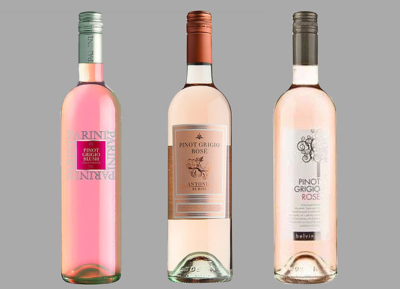 PINOT GRIGIO ROSE WINE SELECTION BY WINEDIMENSIONS