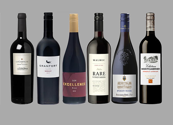 French Red Wine Selection