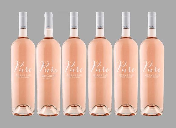Côtes de Provence Rosé Pure Mirabeau Case of 6 Bottles