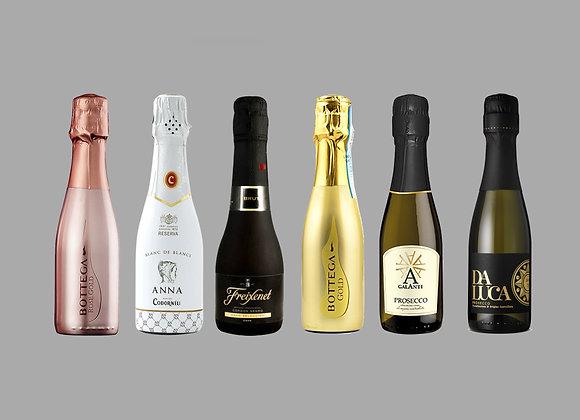 Mini Sparkling Wine/Prosecco Selection