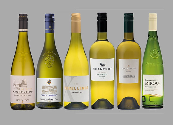 French White Wine Selection