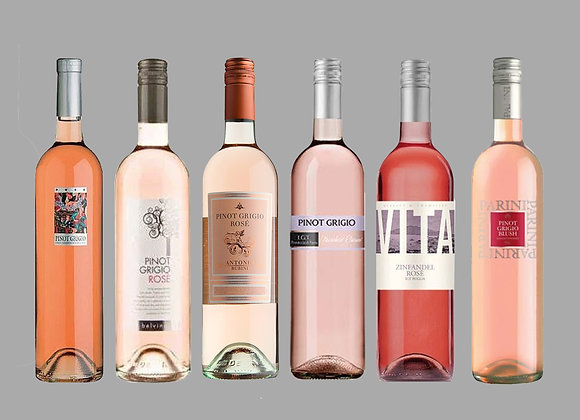 Italian Rose Wine Selection