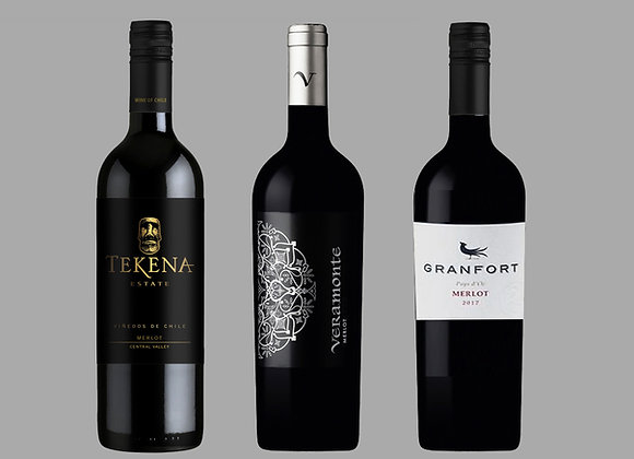 Merlot Wine Selection