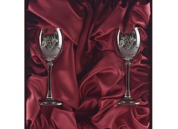 Winedimensions Wine Glass Gift Set without Wine (2/box Claret)