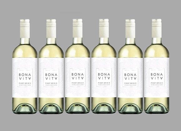 Bonavita Pinot Grigio Wine Case of 6 Bottles