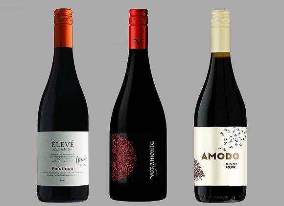 Pinot Noir Wine Selection