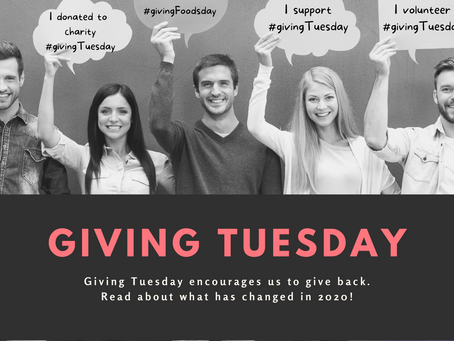 Giving Tuesday - December 2020