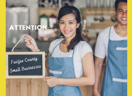 Small Businesses in Fairfax County: New RISE grant Available
