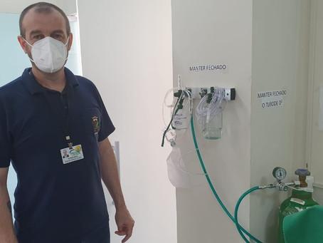 Prefeitura de Ipiranga do Sul adquire novos conjuntos de oxigênio para serem usados na UBS