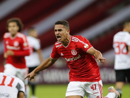 Internacional goleia Olimpia por 6 a 1 na Libertadores